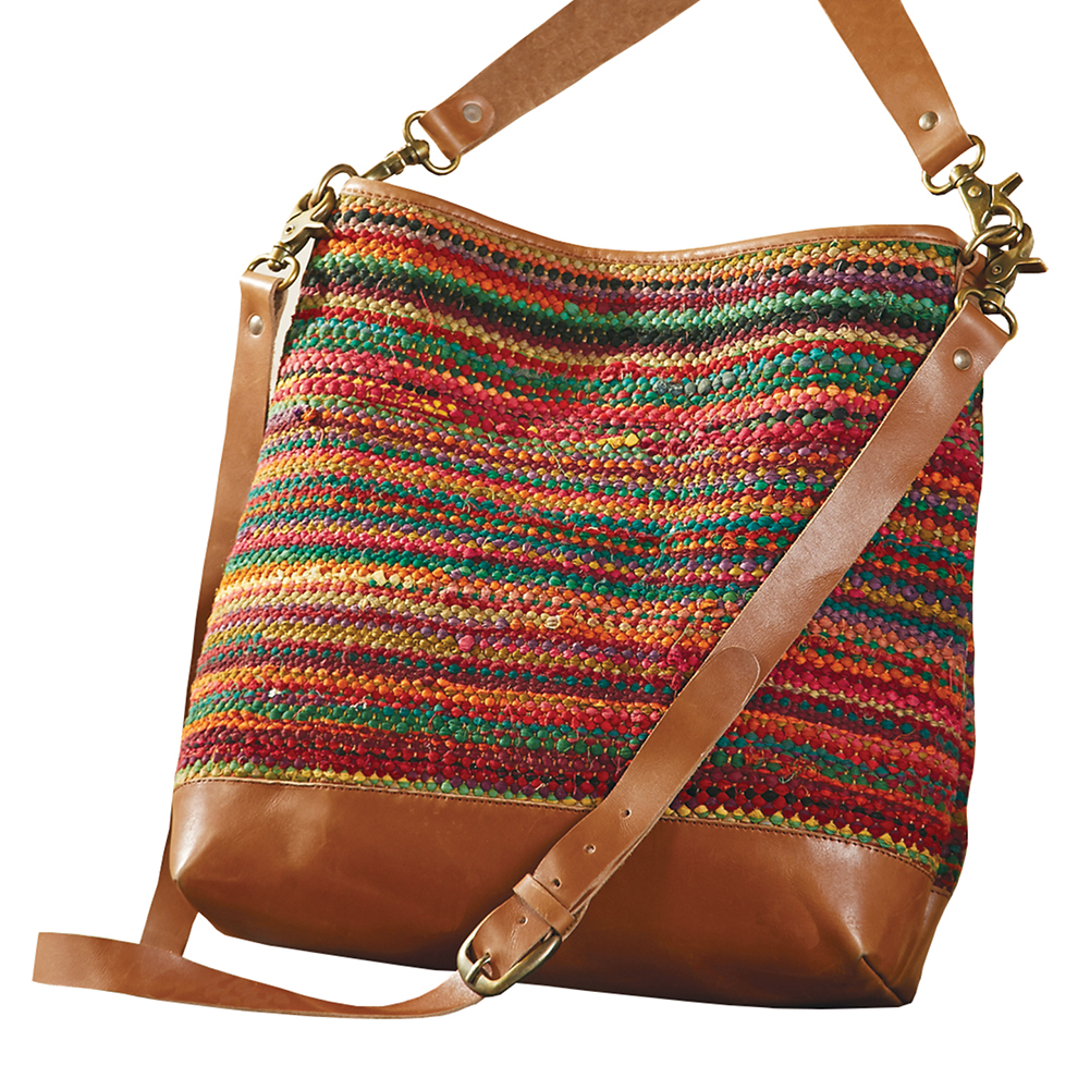 Rag Rug Shoulder Bag