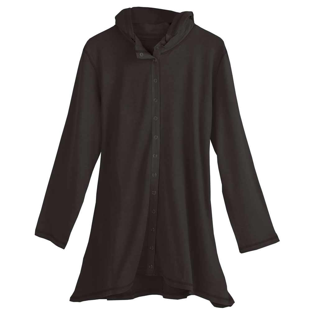 SIGNALS Women's Hooded Snap Jacket at Sears.com
