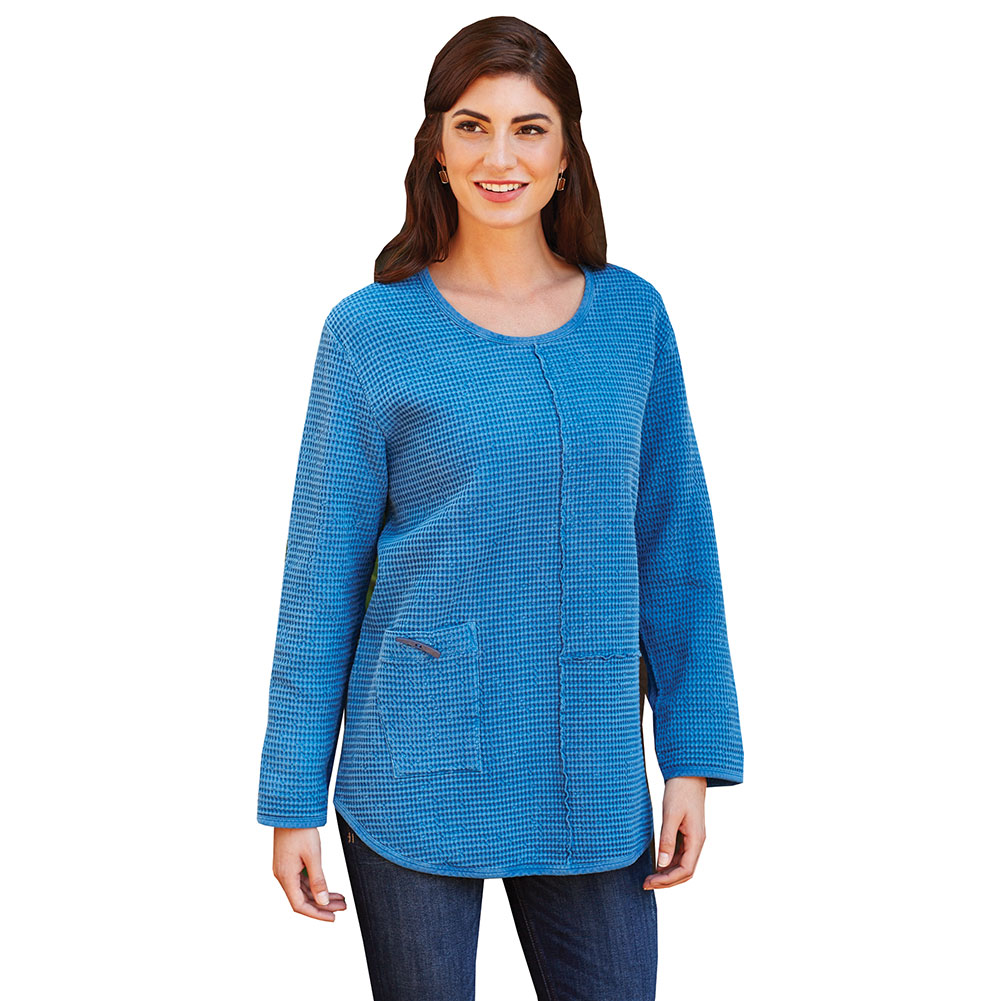 Long Sleeve Shirts: Free Shipping on orders over $45 at vanduload.tk - Your Online Tops Store! Simply Ravishing Women's Assymetrical Front/Back Handkerchief Hem Long Sleeve Tunic Top. Reviews. Women's Tunic Top - Green & Blue Peacock .